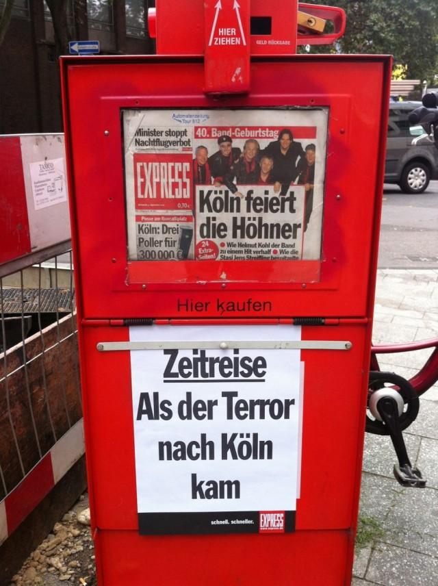 Als der Terror nach Köln kam