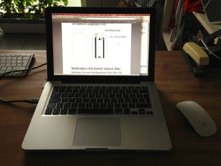 Macbook und Magic Mouse